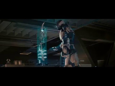 Scarlett Johansson boobs pressed scene in Avengers: Age of Ultron