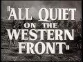 All Quiet On The Western Front Audiobook Chapter 1 WWI Illustrated With War Photos