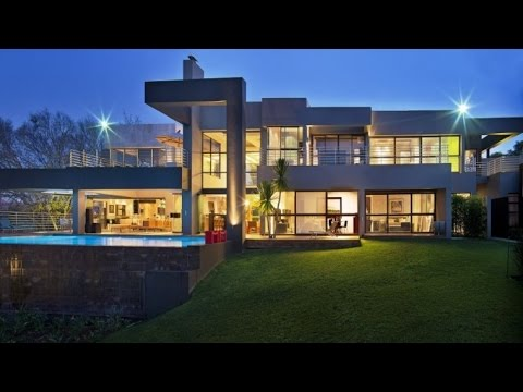 Stunning Modern Luxury Residence in Johannesburg, South Africa