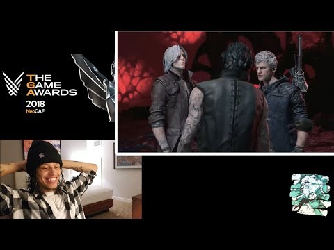 Devil May Cry 5 | TGA 2018 Story Trailer | Reaction!!! thumbnail