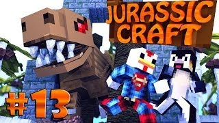 "Minecraft | Jurassic Craft - Dinosaurs Ep 13 ""BURNING DOWN THE SHIP"""
