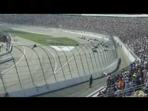 Montoya crash at the Las Vegas  Shelby American 426 28th Feb 2010 - NASCAR