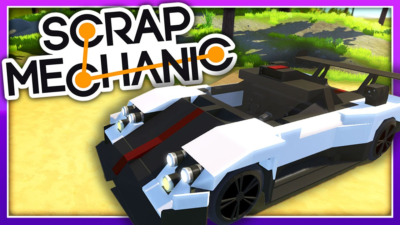 Scrap Mechanic Creations :: SO MANY SPORTS CARS! :: Let\'s Play Scrap ...