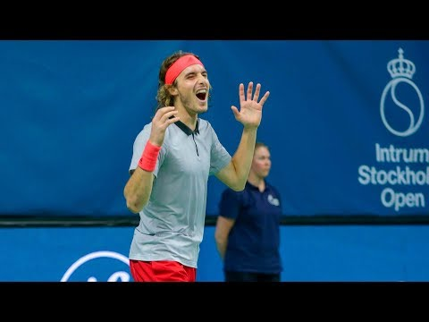 Highlights: Tsitsipas Beats Gulbis For Maiden Title In Stockholm 2018