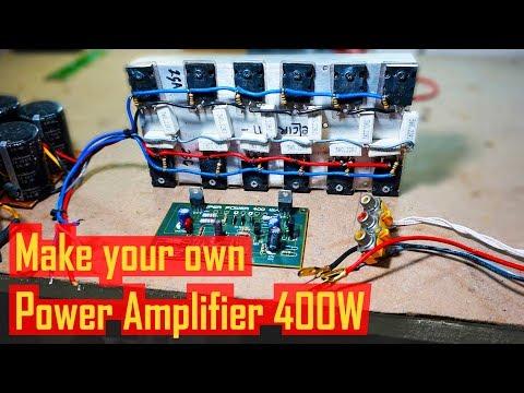 Test Power Amplifier 400W 2SC5200 2SA1943