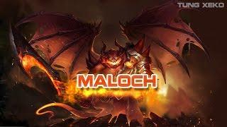 hướng dẫn chơi tướng maloch ma vương quản ngục lin qun mobile realm of valor