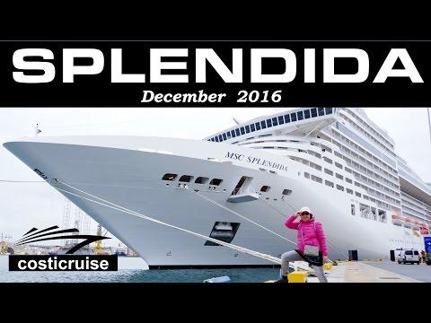 MSC SPLENDIDA Departures By Costi