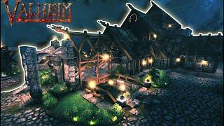Base with Landscape | Valheim Build