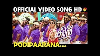 Podiparana Official Song HD | Celebration Song | Queen Malayalam Movie 2018 | Fan Made
