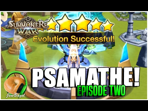 SUMMONERS WAR : PSAMATHE! (Episode Two - Time to 6-Star!)