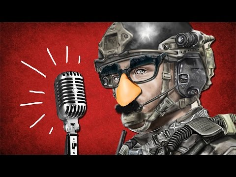 STRANGERS HELP ME WRITE A SONG - Call of Duty Auto-tune