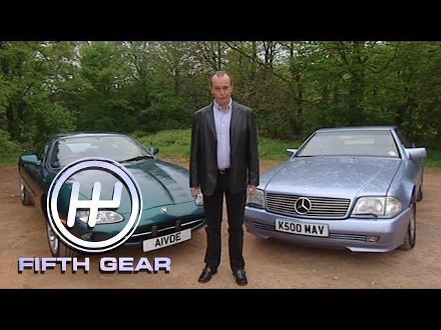 Jaguar XK8 & Mercedes SL   Fifth Gear Classic