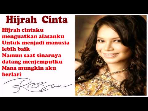 Rossa Hijrah Cinta Lirik [Video]