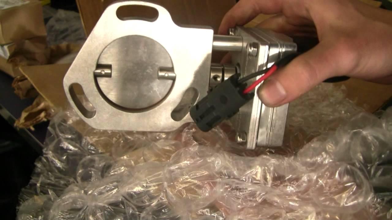 Electric Exhaust Cutout 5.2 V8 ZJ Grand Cherokee LOUD