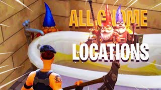 ALL GNOME LOCATIONS in Fortnite: Battle Royale