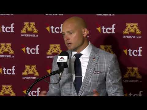 Gopher Blog - PRESS CONFERENCE: P.J. Fleck previews Gophers trip to Fresno State