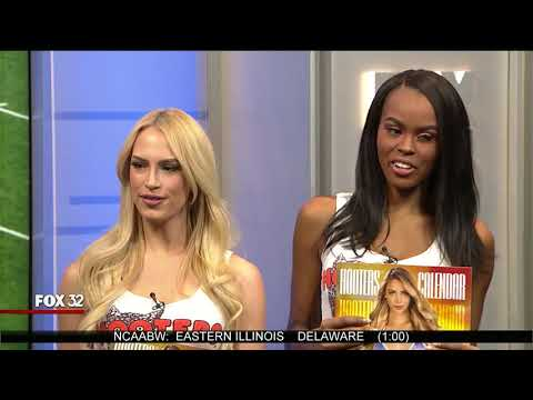 Hooters Girls on Fox Kickoff Sunday 11 26 17