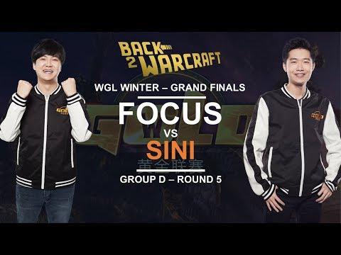 WGL:W Grand Finals 2018 - Group D - Round 5: [O] FoCuS Vs. Sini [N]