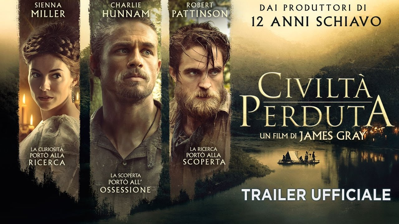 Civiltà perduta (Charlie Hunnam, Robert Pattinson) - Trailer italiano ufficiale [HD]