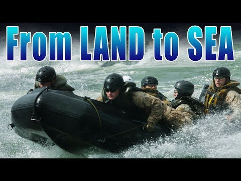 From Land and Sea: Marines Go!