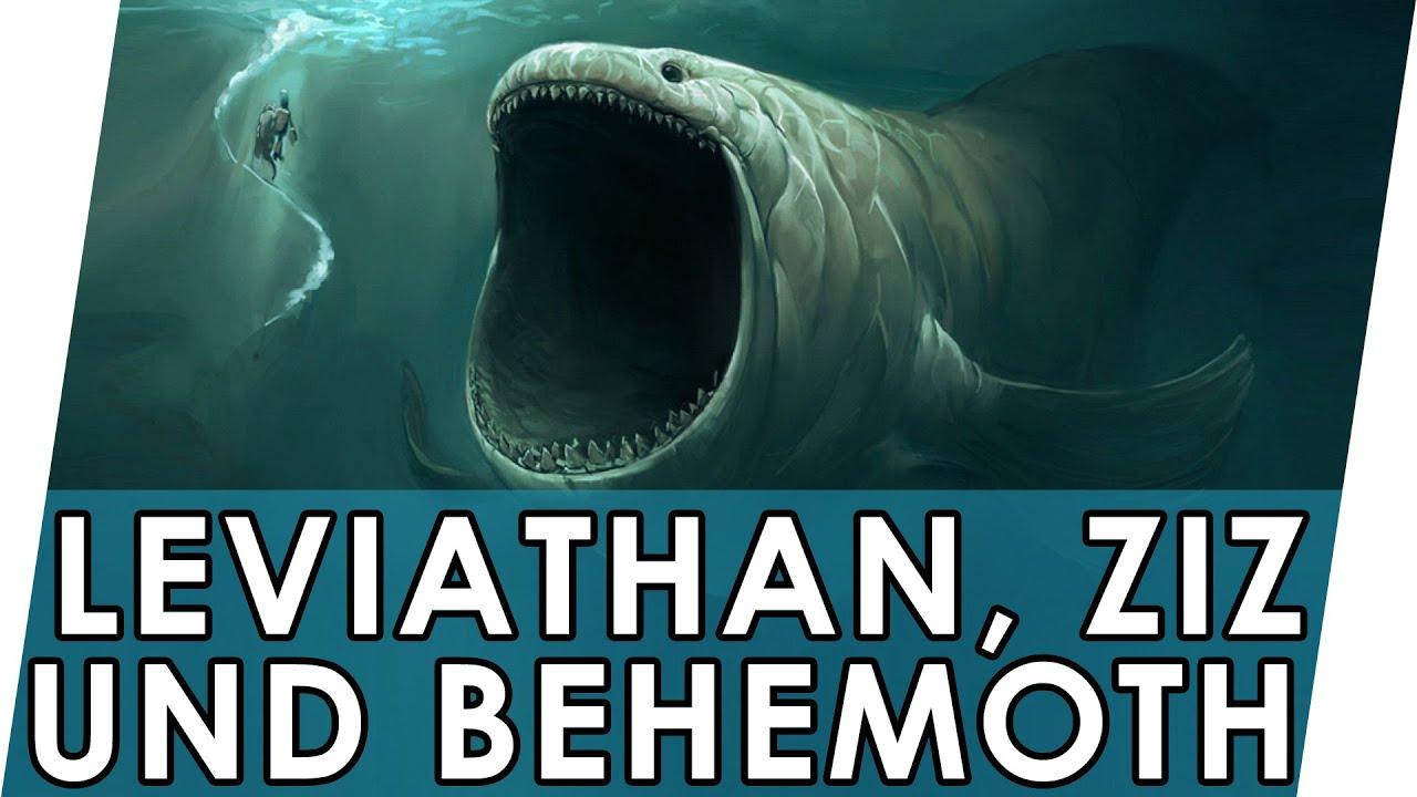 Leviathan, Behemoth und Ziz   Was ist ihre Geschichte?