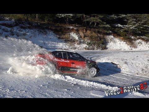 Test Monte Carlo 2019 | Esapekka Lappi | Citroën C3 WRC By PapaJulien