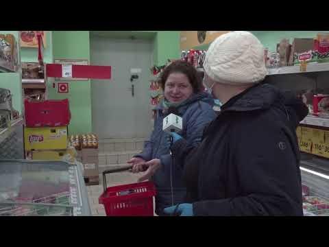 Безопасно ли покупать продукты в Заволжье? Итоги рейда по магазинам города. 04.04.2020