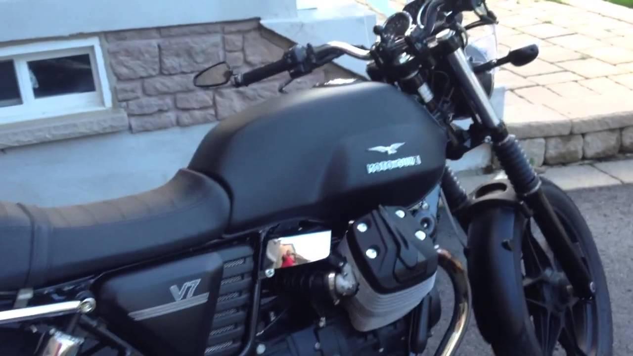 moto guzzi 2013 v7 stone - youtube