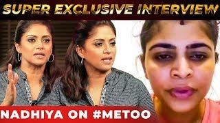 #Metoo Movement: Nadhiya's BOLD Statement on #Metoo Movement | NPA 25