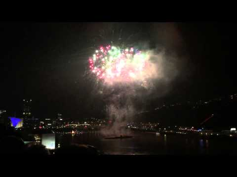 Pittsburgh PA Independence Day Fireworks 2015