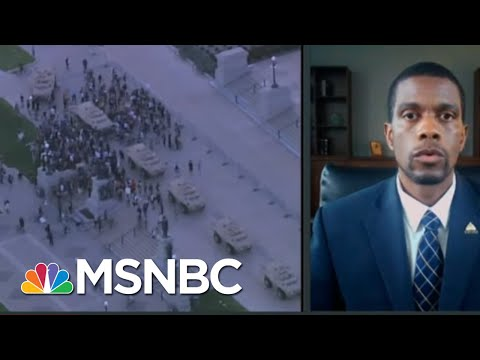 MN Would Reject Trump Domestic Military Deployment: St. Paul Mayor | Rachel Maddow | MSNBC
