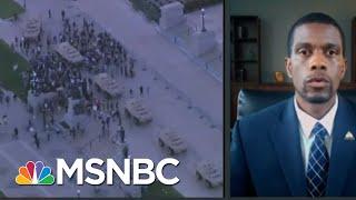 St. Paul Mayor Would Reject Trump Domestic Military Deployment | Rachel Maddow | MSNBC