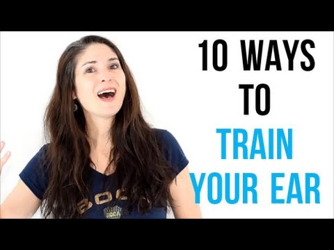 how to train your ear for singing