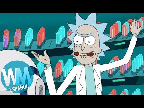 ¡Top 10 Veces en las Que Rick SE PASÓ DE LA RAYA en Rick y Morty!