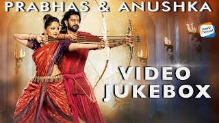 Latest Movie Jukebox   Prabhas Anushka Songs   Malayalam Dubbed Songs