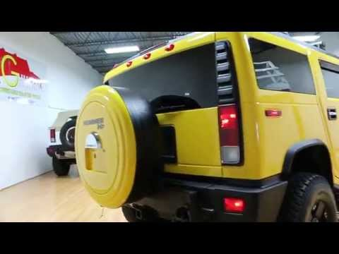 2006 Hummer H2 Luxury For Sale~Yellow~XD Rims~Beautiful Condition~Low Miles