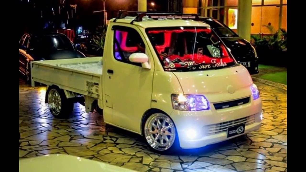 Kumpulan Modifikasi Pick Up Daihatsu Gran Max - YouTube