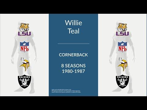 Willie Teal: Football Cornerback