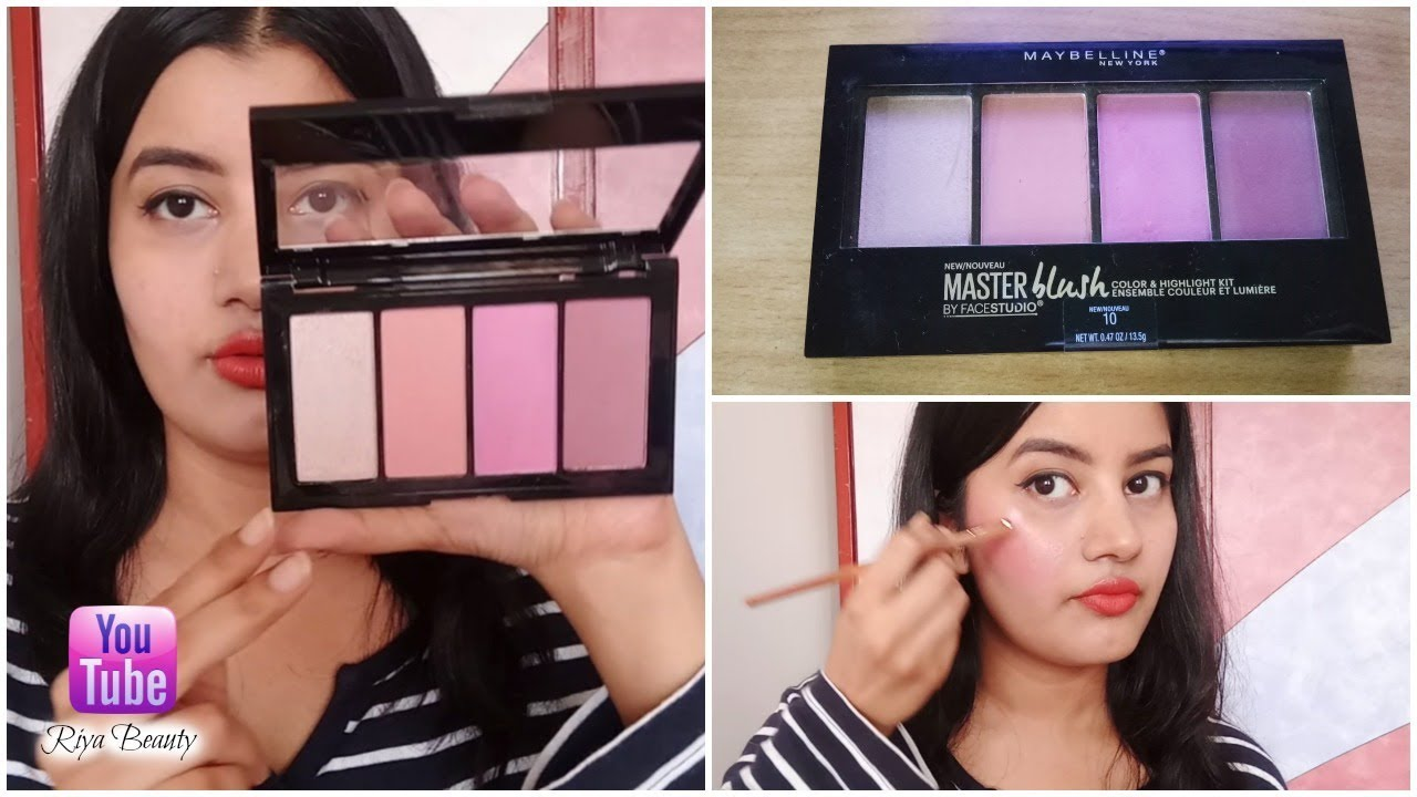 Facestudio Master Blush Color & Highlight Kit by Maybelline #3