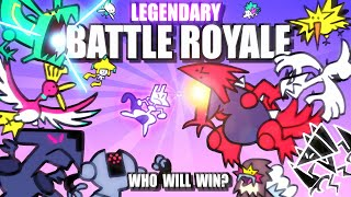 Legendary \u0026 Mythical Pokemon Battle Royale ANIMATED 🌍