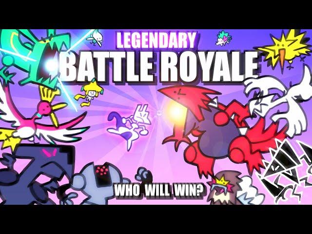Legendary & Mythical Pokemon Battle Royale ANIMATED 🌍