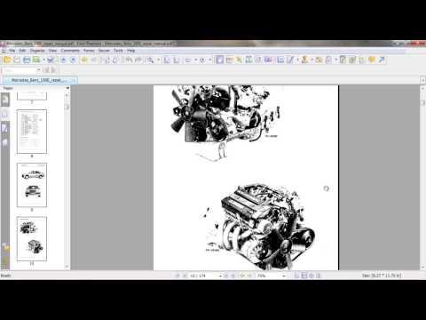 Manual pdf w124 mercedes