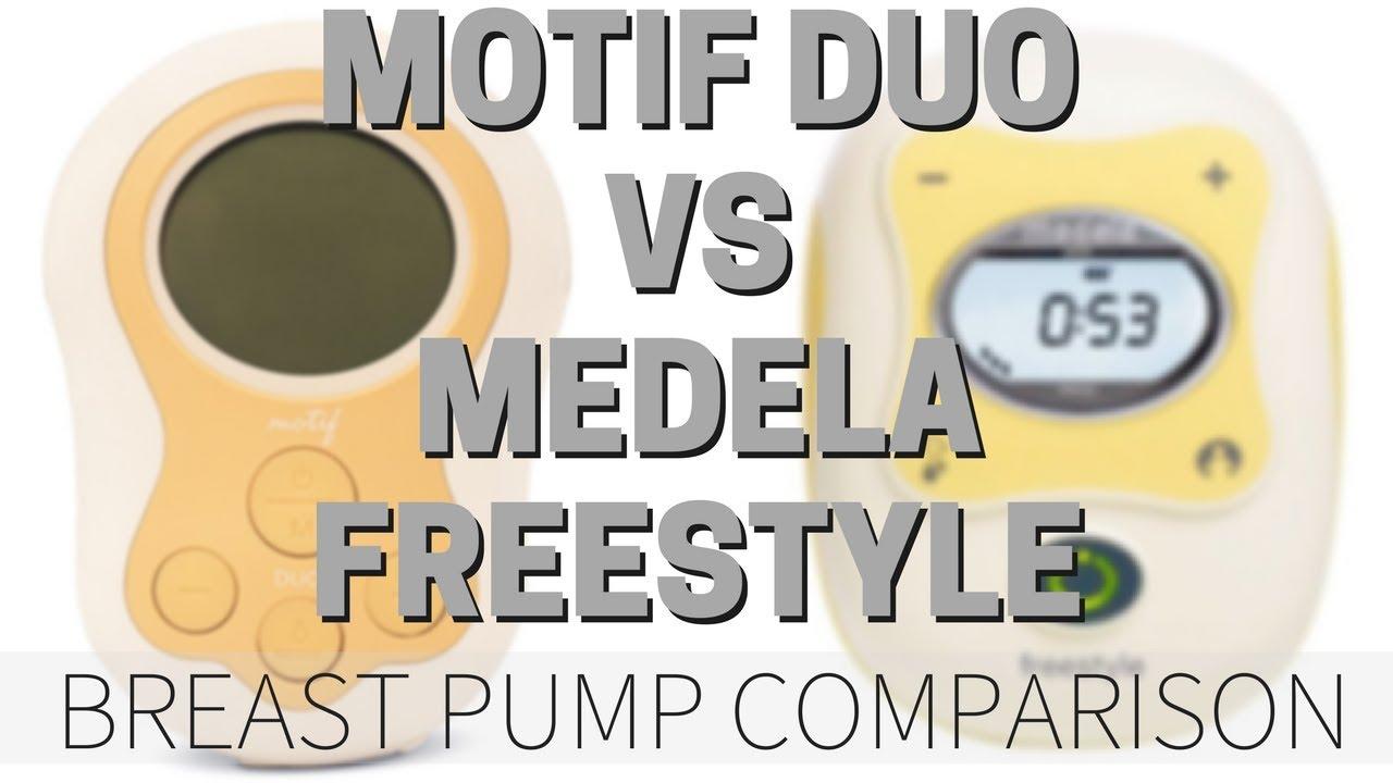 Motif Duo Vs Medela Freestyle Breast Pump Comparison Youtube