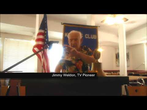 KIWANIS PALM SPRINGS SPEAKER -- Jimmy Weldon, TV Pioneer