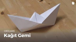 Origami: Kağıttan Gemi Yapımı