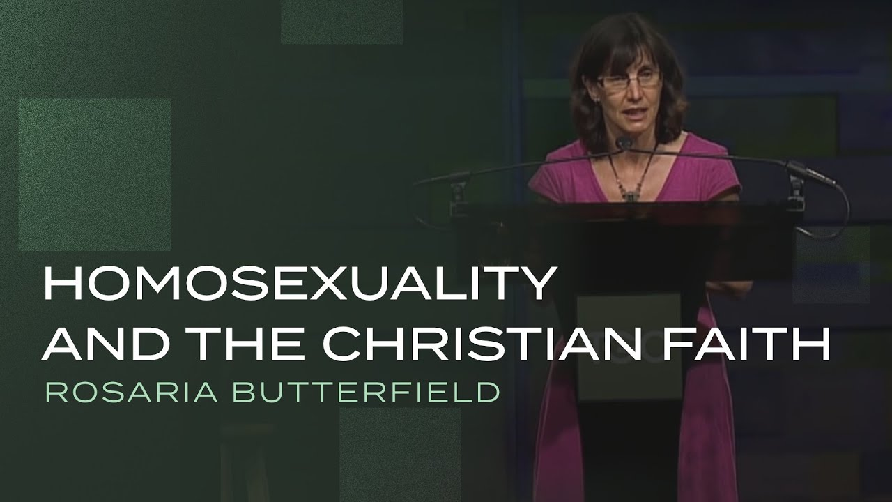 Rosaria butterfield homosexuality and christianity