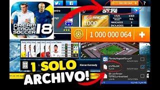 Hack MONEDAS INFINITAS para dream league soccer 2018 solo con un archivo!!