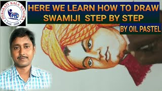 How to Draw SWAMI VIVEKANANDA step by step(ON DEMAND CLASS)
