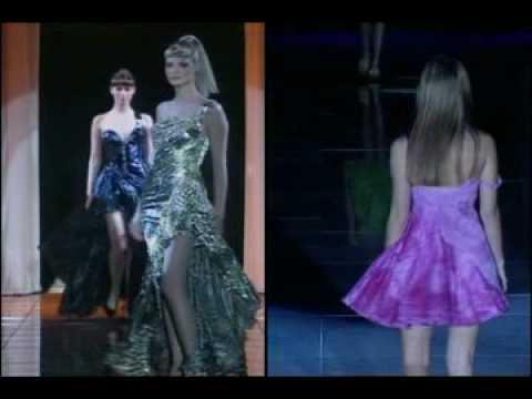 Supermodels: Versace Fashion Catwalk Compilation #2