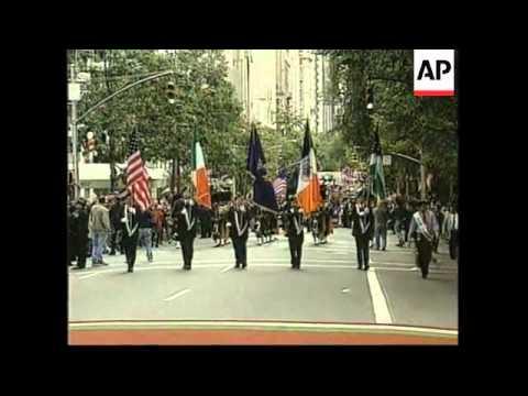 USA: NEW YORK: ANNUAL COLUMBUS DAY PARADE
